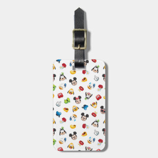Mickey & Friends Emoji Pattern Luggage Tag