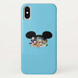 Mickey & Friends | Group in Mickey Ears iPhone X Case