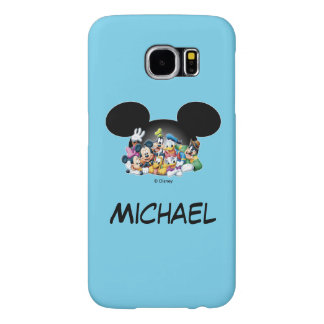 Mickey & Friends   Group in Mickey Ears Samsung Galaxy S6 Cases