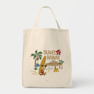 Mickey & Friends | Hawaii Tote Bag