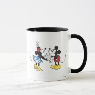 Mickey & Friends Mickey & Minnie Kissing Mug