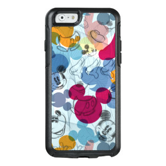 Mickey & Friends   Mouse Head Sketch Pattern OtterBox iPhone 6/6s Case