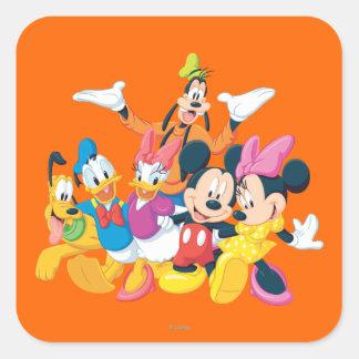 Mickey & Friends | Picture Perfect Square Sticker