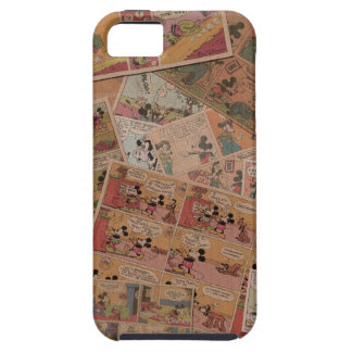 Mickey & Friends | Retro Colored Comic Strip Case For The iPhone 5