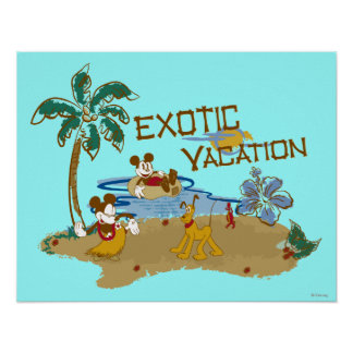 Mickey & Friends   Vacation Poster