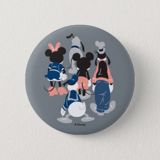 Mickey | Mickey Friend Turns 6 Cm Round Badge