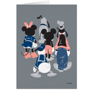 Mickey | Mickey Friend Turns Card