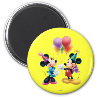 Mickey & Minnie   Birthday Magnet
