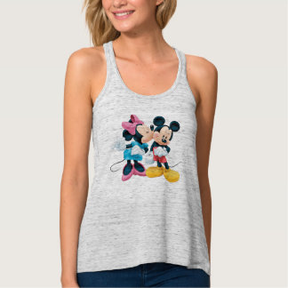 Mickey & Minnie | Kiss on Cheek Singlet