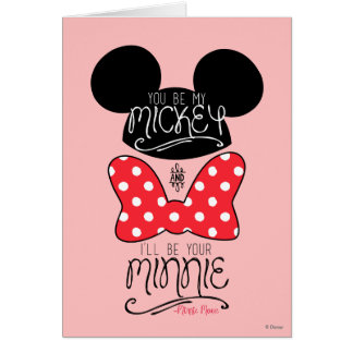 Mickey & Minnie | Love Card