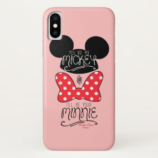 Mickey & Minnie | Love iPhone X Case