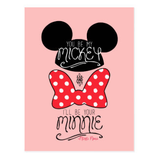 Mickey & Minnie | Love Postcard