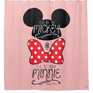Mickey & Minnie | Love Shower Curtain