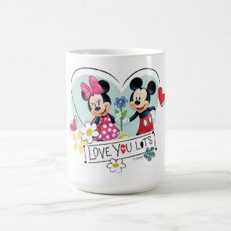 Mickey & Minnie | Love you Lots Coffee Mug