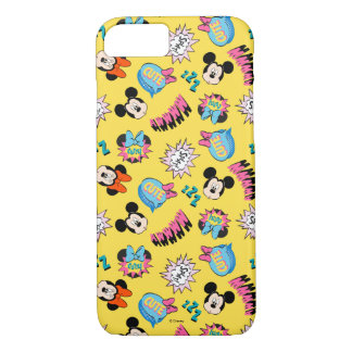 Mickey & Minnie | Super Hero Pop Pattern iPhone 8/7 Case