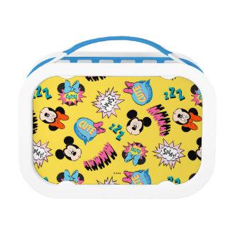 Mickey & Minnie | Super Hero Pop Pattern Lunch Box