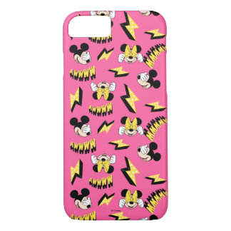 Mickey & Minnie | Super Hero Power Pattern iPhone 8/7 Case