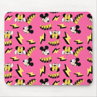 Mickey & Minnie   Super Hero Power Pattern Mouse Pad
