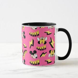 Mickey & Minnie | Super Hero Power Pattern Mug