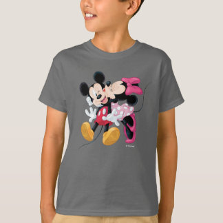Mickey & Minnie | Valentine's Day Smooch T-Shirt