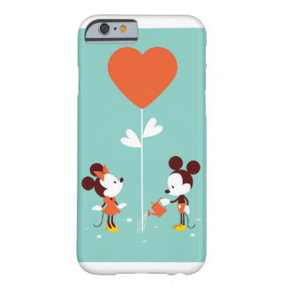 Mickey & Minnie Watercolor Clear Soft Love Cases