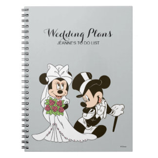 Mickey & Minnie Wedding | Getting Married Notebook