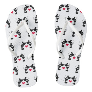 Mickey & Minnie Wedding Thongs