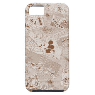 Mickey Mouse | Antique Mickey Comic Pattern Tough iPhone 5 Case