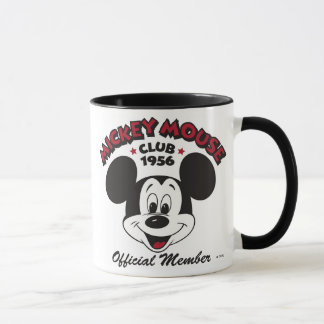 Mickey Mouse Club 1956 Official Member Mug