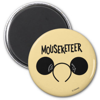 Mickey Mouse Club Ears Magnet