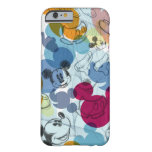 Mickey Mouse Color Pattern Barely There iPhone 6 Case