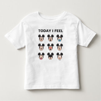 Mickey Mouse Emojis   Today I Feel Toddler T-Shirt