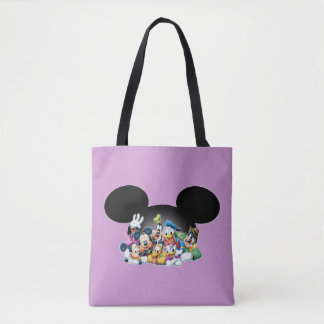 Mickey Mouse & Friends 7 2 Tote Bag