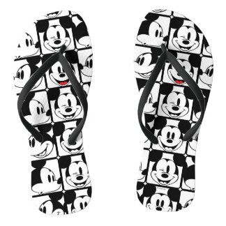 Mickey Mouse | Grid Pattern Thongs
