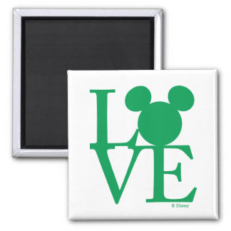 Mickey Mouse LOVE   St. Patrick's Day Magnet