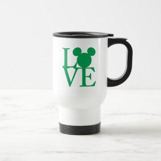 Mickey Mouse LOVE | St. Patrick's Day Travel Mug