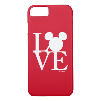 Mickey Mouse LOVE | Valentine's Day 3 iPhone 8/7 Case