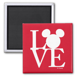 Mickey Mouse LOVE   Valentine's Day 3 Magnet