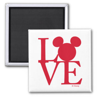 Mickey Mouse LOVE   Valentine's Day Magnet