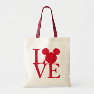 Mickey Mouse LOVE | Valentine's Day Tote Bag
