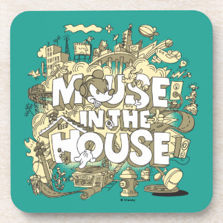 Mickey Mouse | Mouse In The House Coaster