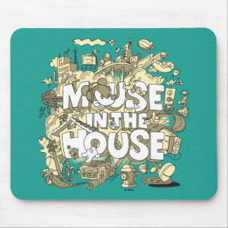 Mickey Mouse | Mouse In The House Mouse Pad