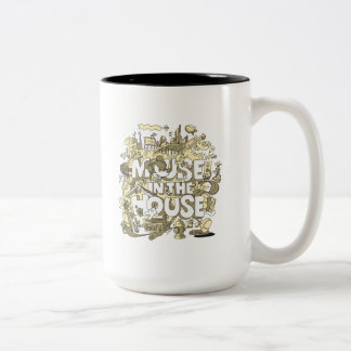 Mickey Mouse | Mouse In The House Two-Tone Coffee Mug
