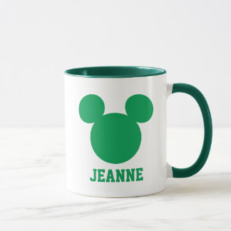 Mickey Mouse St. Patrick's Day | Add Your Name Mug