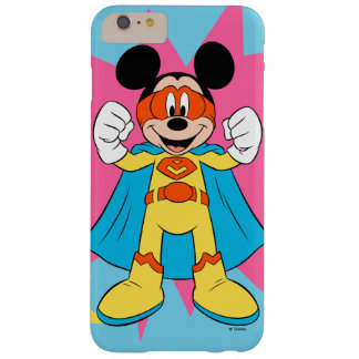 Mickey Mouse | Super Hero Cute Barely There iPhone 6 Plus Case