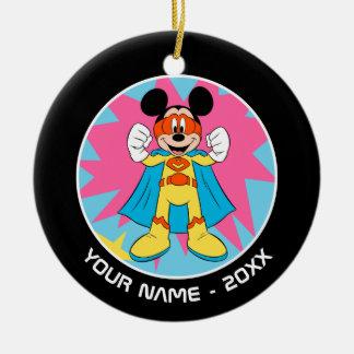Mickey Mouse | Super Hero Cute Ceramic Ornament