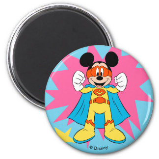 Mickey Mouse   Super Hero Cute Magnet