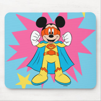 Mickey Mouse   Super Hero Cute Mouse Pad