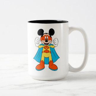 Mickey Mouse | Super Hero Cute Two-Tone Coffee Mug