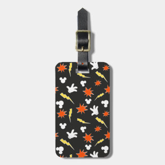 Mickey Mouse | Super Hero Icon Pattern Luggage Tag